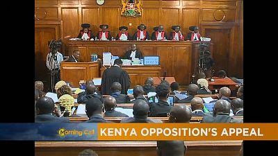 Kenya : la Cour suprême examine le recours de l'opposition [The Morning Call]