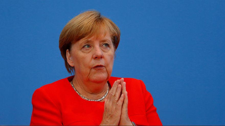 Πιο αισιόδοξη από πέρυσι η Μέρκελ για την Ελλάδα