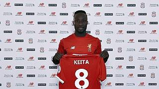 22-year-old Guinean Naby Keita is Liverpool's record signing