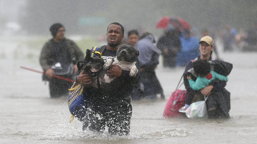 A community comes together as more rain dumps on Texas