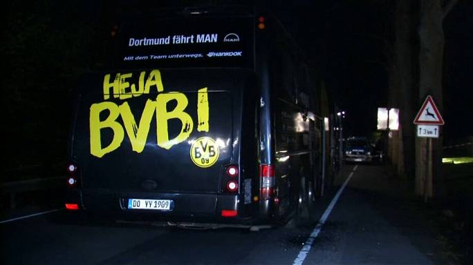 Borussia Dortmund bus attacker charged with 28 counts of attempted murder