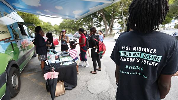 Florida on verge of blocking some ex-felons from voting. Critics call it a poll tax.