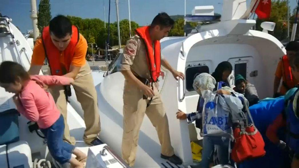 Ege'de 225 yasadışı göçmen yakalandı