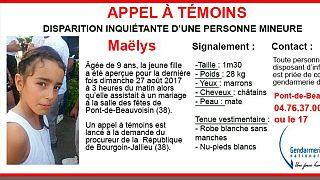 دختر ۹ ساله فرانسوی در جشن عروسی ناپدید شد