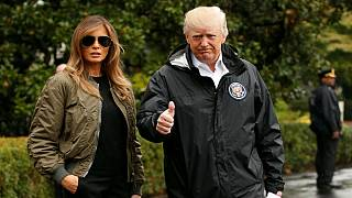 Trump takes on Hurricane Harvey