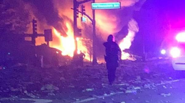 'Ground-shaking' explosion rocks Illinois town