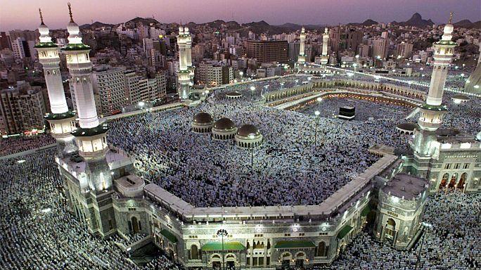 Beginn der muslimischen Hadsch-Wallfahrt