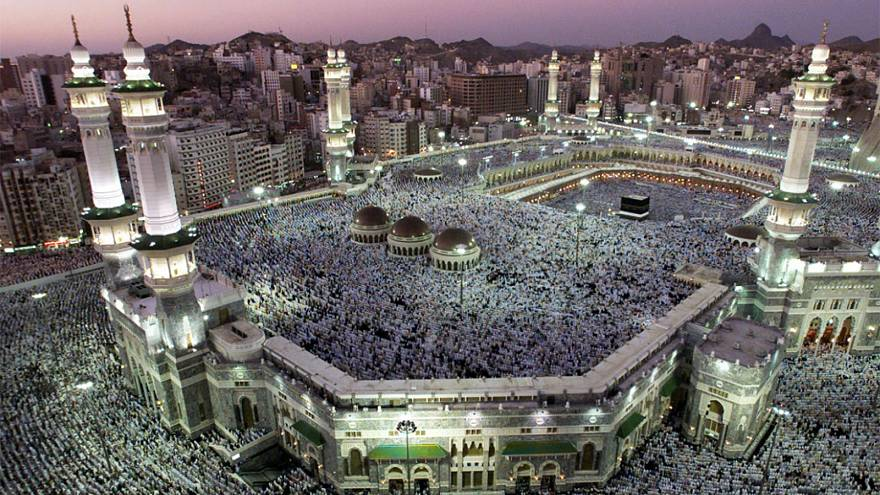Haj draws millions to Mecca