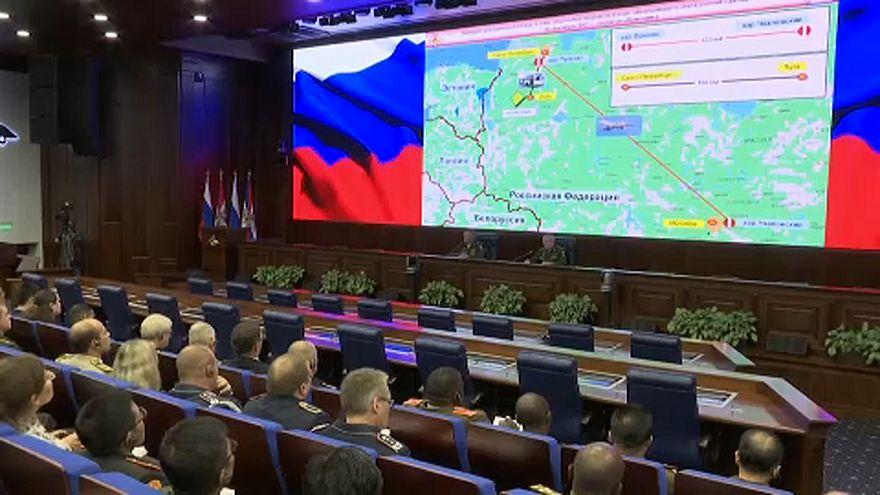 Hadgyakorlatra készül Oroszország