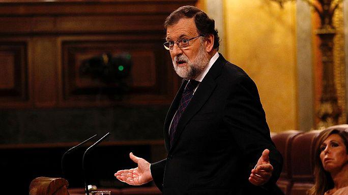 Rajoy reta a la oposicion a que presente otra moción de censura