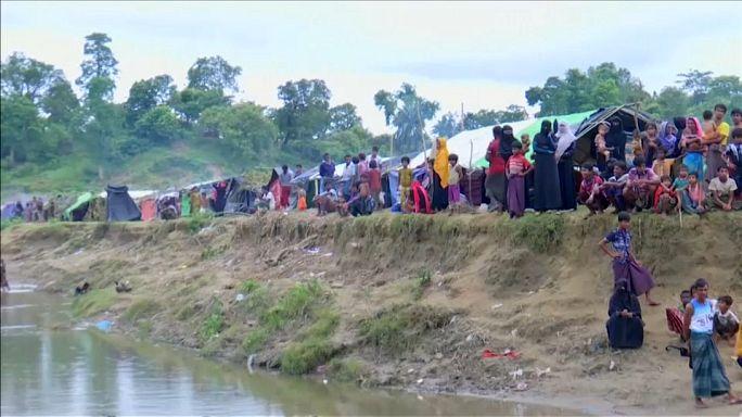 Massenflucht von Muslimen aus Myanmar