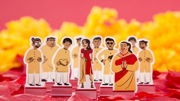 """""""أرينجد"""" لعبة مبتكرة لإثارة النقاش حول الزواج التقليدي"""
