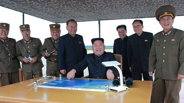 Kim Jong-un se la ride
