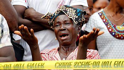 Sierra Leone mudslide survivors uncertain of future