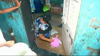 Inundaciones en Bombay por el monzón