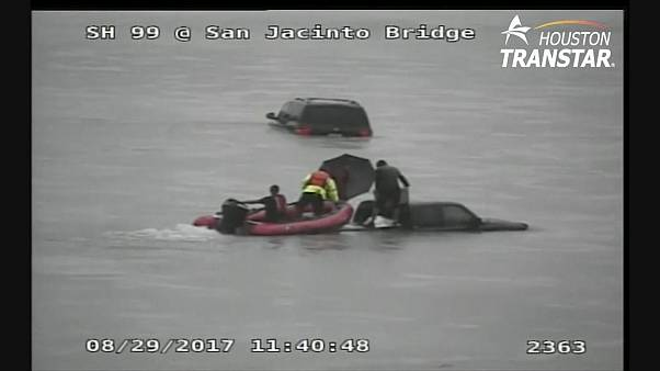 Spektakuläre Rettungsaktionen in Houston