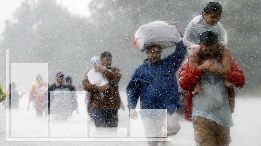 Ouragan Harvey : il est tombé l'équivalent d'un mois de pluie sur toute la France