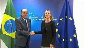 دیدار وزیر خارجه برزیل با مقامات اروپایی در بروکسل