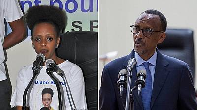 Kagame's female opponent facing forgery and tax evasion charges