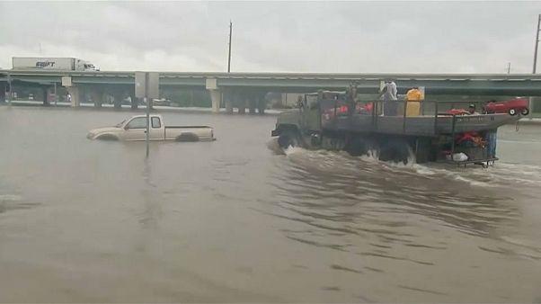 Harvey s'abat sur la Louisiane