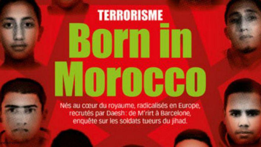 """""""الإرهاب ولد في المغرب""""غلاف مجلة فرنسية يستفز المملكة"""