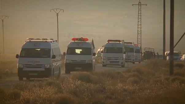 Coligação internacional trava comboio de membros do Daesh