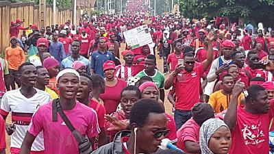 Togo court jails 15 anti-government protesters