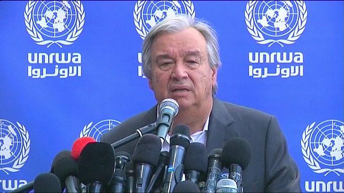 """Guterres: """"Gaza, situazione drammatica. Rimuovere il blocco"""""""