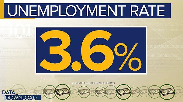 Trump rides good economic numbers upward