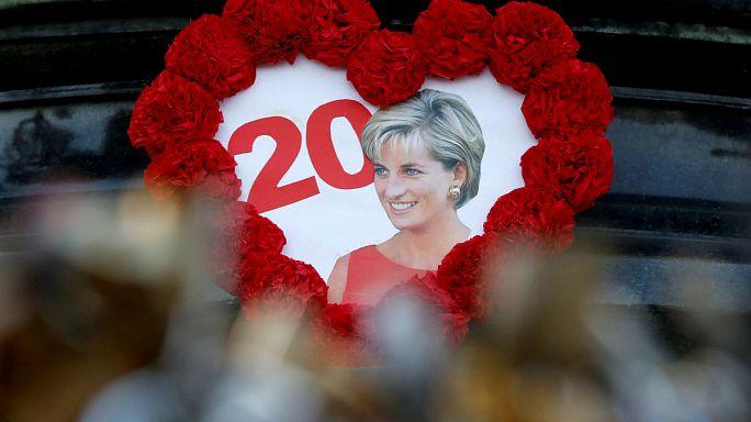 20 Jahre nach dem tödlichen Unfall: Gedenken an Lady Di