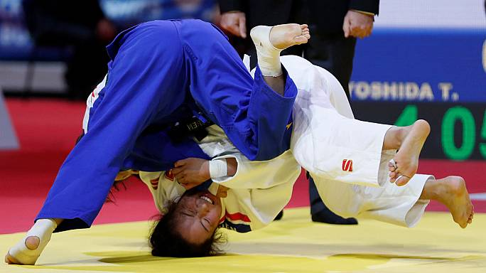 Mongolian breaks Japan's gold medal stranglehold