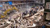 Índia: derrocada de edifício em Mumbai faz mortos