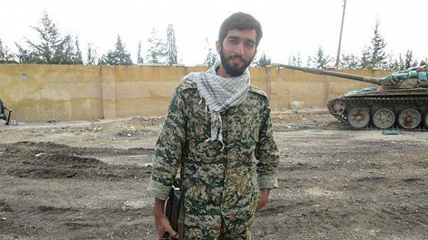 حزب الله لبنان جنازه محسن حججی را از داعش تحویل گرفت