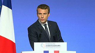 Macron's push for global popularity
