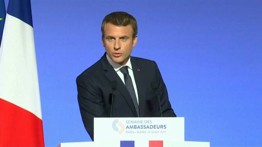 Macron's push for global popularity