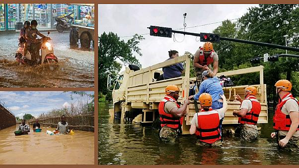 پوشش خبری طوفان هاروی آمریکا و سیل آسیا؛ یکسان یا متفاوت؟