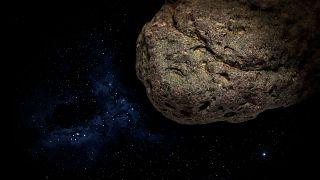 Egy aszteroida suhan el a Föld mellett