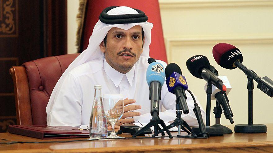 وزير خارجية قطر في بروكسل لمناقشة الازمة الخليجية