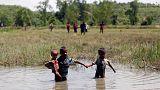 غرق شدن پناهجویان روهینگیایی در رودخانه مرزی میانمار و بنگلادش