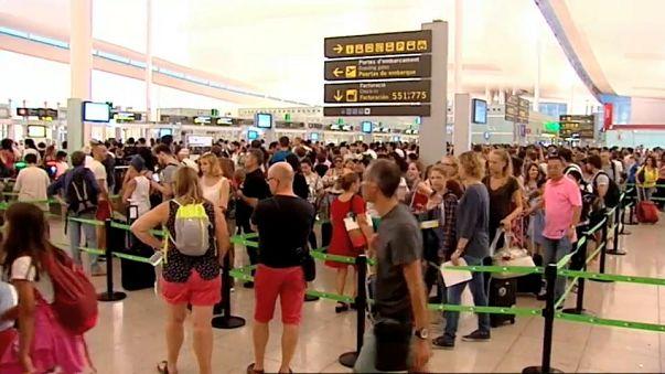 200 euros más al mes para los vigilantes de El Prat
