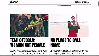 """''Un Garçon Coquin'': le magazine qui bouscule la """"masculinité"""" nigériane"""