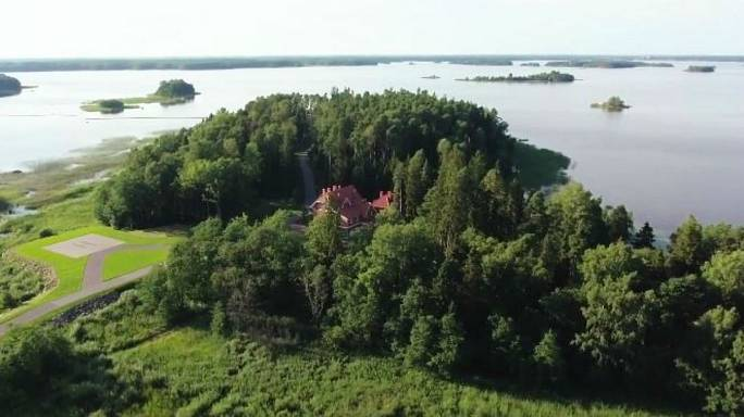 Is this the secret villa of Russia president Vladimir Putin?