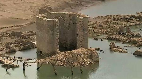 Elveszett várost rejt a víztározó