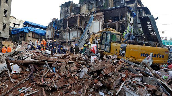 Halálos házomlás Mumbai-ban