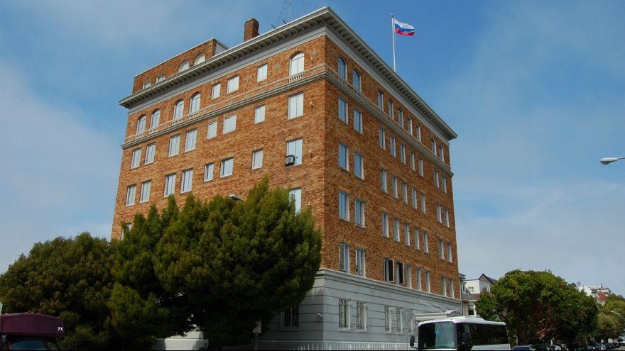 آمریکا دستور تعطیل شدن کنسولگری روسیه در سانفرانسیسکو را صادر کرد