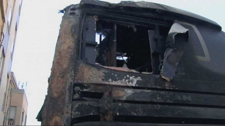 Vuelta: Brandanschlag auf Teambus