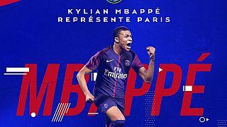 Kylian Mbappé no PSG