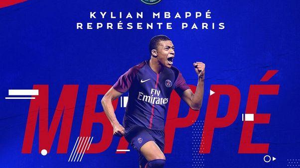 Mbappé officiellement prêté au PSG