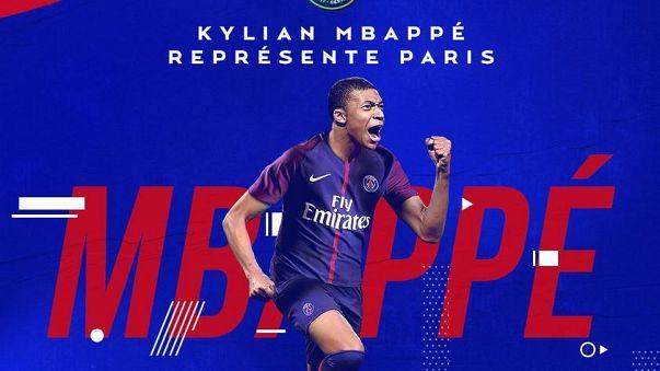 PSG Mbappe'yi renklerine bağladı