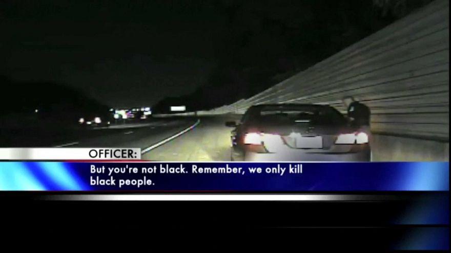 ABD'li polis memuru: Biz sadece siyahları öldürürüz